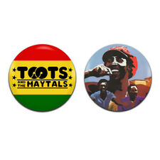 2x Toots And The Maytals Band Reggae 25mm / 1 Inch D Pin Button Badges