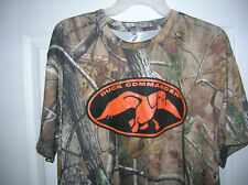 Mens hunt Camo sport T-Shirt Size Large Realtree fabric  T7