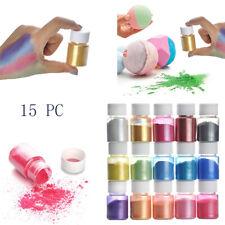 DIY Slime Mica Powder Natural Pigment Set for Colorants, Bath Bomb dye Soap Ma