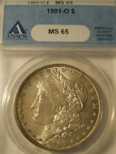 1901-O MORGAN SILVER DOLLAR MS65 ANACS