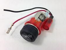 12V Cigarette Lighter Socket RED Illuminated for Toyota Yaris Avensis Verso