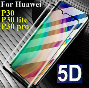 Huawei P20 Lite MATE 20 PRO,P30 Genuine Full 5D Tempered Glass 9H SCRN Protector