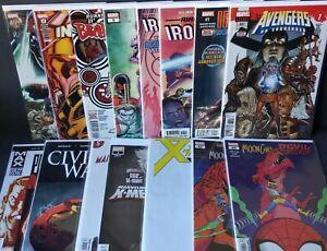 MARVEL Comic Lot Keys Variants 1st Apps Ironheart X-Men Avengers 15 Books NM