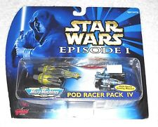 Micro Machines - Star Wars Episode I (Pod Racers Pack IV) (MOC) - 100% complete