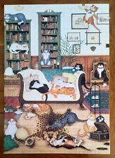 Library cats Jigsaw by WHSmith, 1000 Pieces