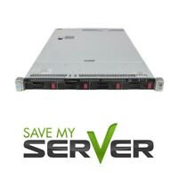 HP ProLiant DL360 G9 Server 2x E5-2623 V3 3.0GHz = 12 Cores 128GB P440 2x Trays