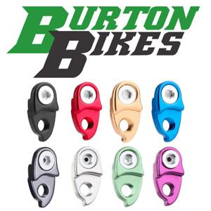 Burton Bikes Rear Derailleur Mech Hanger Extender, 8 colours