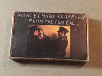"""Mark Knopfler Cassette Tape Music from the Film """"Cal"""" Mercury 822 769-4 M-1 1984"""