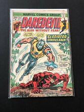 Marvel Comics   Daredevil #113   1974   Black Widow, Gladiator
