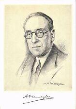 CPA AUGUST VERMEYLEN écrivain writer (285181)