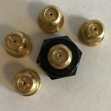 TeeJet TX4 Conejet Spray Tip Brass Lot Set of 5 with Free Caps