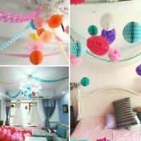 Paper Garland Happy Birthday Bunting-Banner Wedding Party for Hanging-Decorate