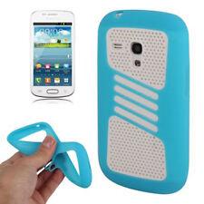 2-teiliges Case Schutzhülle für Samsung i8190 Galaxy S3 Mini in hellblau Cover