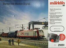 Märklin H0 29351 Kit de démarrage numérique Benelux avec locomotive électrique