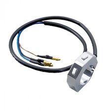 Externer CNC Schalter mit 2 Taster, chrom, für 7/8 Zoll und 1 Zoll Lenker
