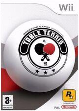 WII & WII U-Tennis de Table ** NOUVEAU & Sealed ** En Stock au Royaume-Uni