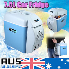 Portable 7.5L Car Fridge Freezer Cooler 12V Mini Camping Refrigerator Box New