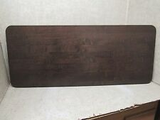 RV NEW - TABLE TOP - 48 X 20 BROWN WOOD LIKE COLOR - #50-9