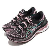 Asics Gel-Kayano 27 MK The New Strong Black Pink Turq Women Running 1012A864-001