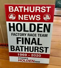 News 1969 - 2020 Bathurst Holden Sign