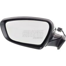 Fits Forte 14-16 Driver Side Mirror Replacement - Heated - Power Folding
