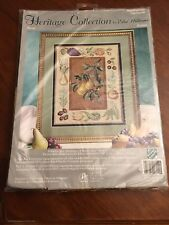 Heritage Collection cross stitch by Elsa Williams, Pears, 06014 New