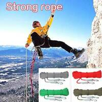 1m Climbing Rope Outdoor Safety Rescue Wild Survival Equipment Hiking Camping