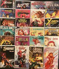 Spider-Man's MARY JANE WATSON Variant Cover Comics Marvel FULL SET+ 24 Books NM