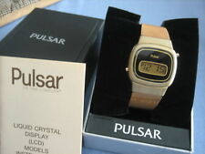 Original Pulsar Gold filled LCD watch model 5140-2