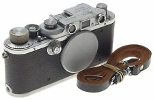 IIIB LEITZ M39 SCREW MOUNT RANGE FINDER 35mm FILM CAMERA VINTAGE LEICA 3 B BODY