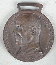 Medaglia Bersaglieri adunata nazionale a genova 1938 GUSTAVO FARA MVSN  MEDAL
