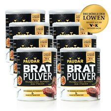 PAUDAR Bratpulver 8er-Set  pflanzliches Bratfett zum Streuen Pauder Pauda Powder