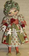 "*New* Cloth Art Doll (Paper) Pattern ""Celyn"" By Sherry Goshon"