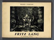 Fritz Lang by Francis Courtade