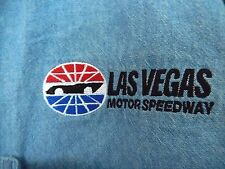 Las Vegas Motor Speedway Logo Denim Shirt by Lee Sport-size XL  EUC