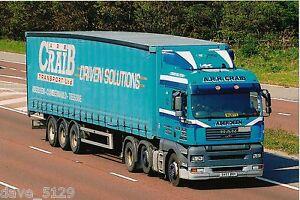 Truck Photo: A R R CRAIB TRANSPORT - MAN - SV57 BXH - DYCE Aberdeen SCOTLAND