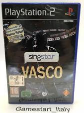 SINGSTAR VASCO ROSSI - PS2 - VIDEOGIOCO NUOVO SIGILLATO PLAYSTATION 2 PAL