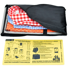 Shirt Carrier Travel Organiser Bag Crease-free Folding Shirt Packer for Business