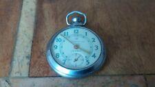 Vintage Working Ingersoll Triumph Pocket Watch Military?