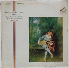Classical LP RCA Living Stereo LSC2717 SD 1S Masters of Guitar Vol. 2 Ramos Diaz