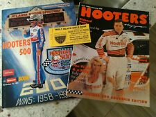 1992 HOOTERS 500 NASCAR SOUVENIR PROGRAM AND SPECIAL HOOTERS FALL 1992 MAGAZINE