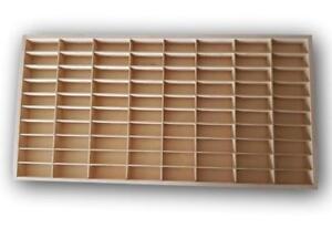 FOR Hot Wheels Diecast Car Matchbox 1/64 Display Wooden Unit Shelf Toy Storage