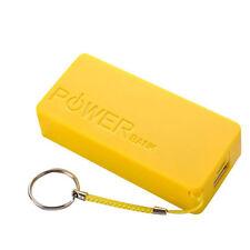 5600mah 2 x 18650 USB Externo Cargador de Batería Power Bank Bricolaje Caja