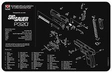 For Sig Sauer P320 TEK-MAT Armorers Gun Cleaning Bench Mat NEW !