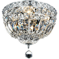 FRENCH EMPIRE FLUSH MOUNT CRYSTAL CHANDELIERS BEDROOM HALLWAY BATHROOM CLOSET