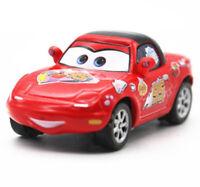 1:55 Metal Toys Disney Pixar Cars #95 Lightning McQueen Fans Tia & Mia Gift