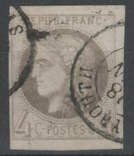 "COLONIES FRANCAISES STAMP TIMBRE 16 "" CERES 4c GRIS "" OBLITERE CAD BEYROUTH K524"