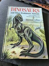 Vintage 1959~Dinosaurs And Other Prehistoric Animals Book~Geis/Peterson