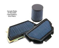 09-14 Yamaha R1 BLUE Bro K&N Air Filter 2009 2010 2011 2012 2013 2014