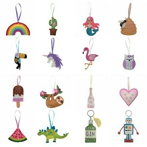 Trimits Felt Sewing Craft Kit Hanging Decoration Children Kids Adults Beginners